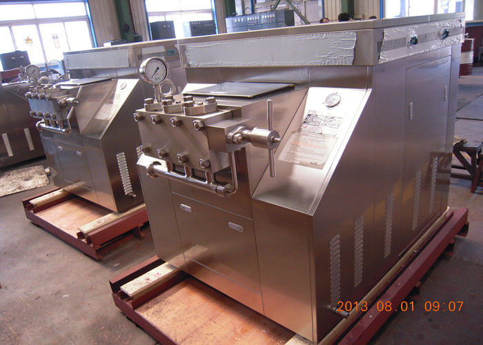 Handle type new condition two stage dairy homogenizer 200L/H 1200 bar